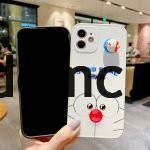 88083-Handmade-Cute-Cartoon-Japanese-Blue-Cat-Doraemon-Animal-Blue-White-3D-Phone-Case-for-iPhone-13-Pro-Max-2-5