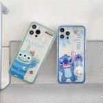88085-Handmade-Cute-Cartoon-Green-Alien-Blue-Stitch-Animals-with-Belt-Clear-Transparent-Phone-Case-for-iPhone-78-Plus-se2-X-Xs-XR-XsMax-11-12-13-mini-Pro-Max-1-1