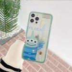 88085-Handmade-Cute-Cartoon-Green-Alien-Blue-Stitch-Animals-with-Belt-Clear-Transparent-Phone-Case-for-iPhone-78-Plus-se2-X-Xs-XR-XsMax-11-12-13-mini-Pro-Max-1-3