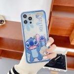 88085-Handmade-Cute-Cartoon-Green-Alien-Blue-Stitch-Animals-with-Belt-Clear-Transparent-Phone-Case-for-iPhone-78-Plus-se2-X-Xs-XR-XsMax-11-12-13-mini-Pro-Max-1-4